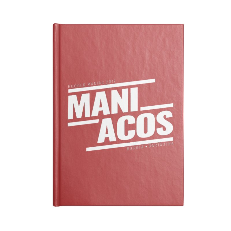 Maniacos v1 Accessories Notebook by WaWaTees Shop