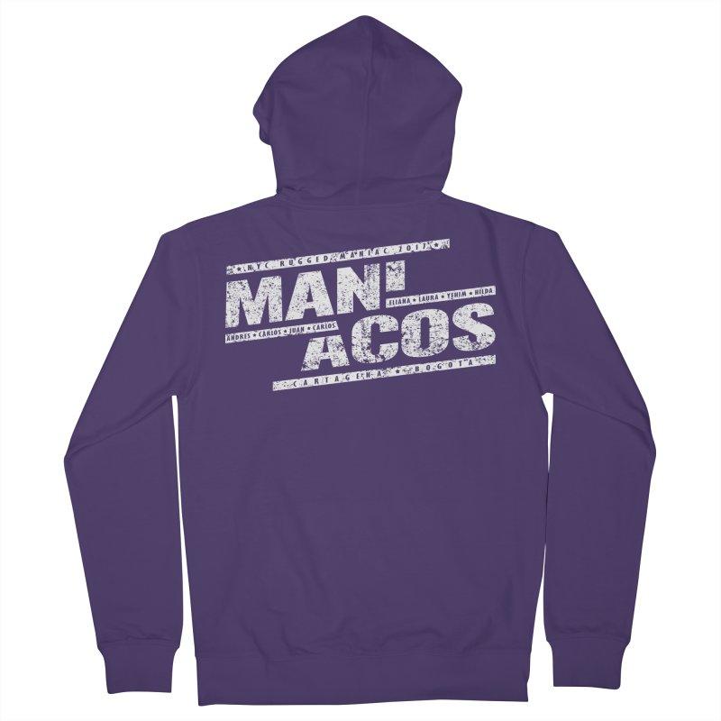 Maniacos v1 Women's Zip-Up Hoody by WaWaTees Shop