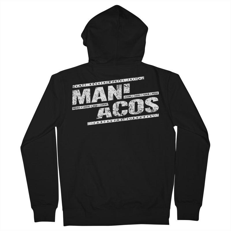 Maniacos v1 Men's Zip-Up Hoody by WaWaTees Shop