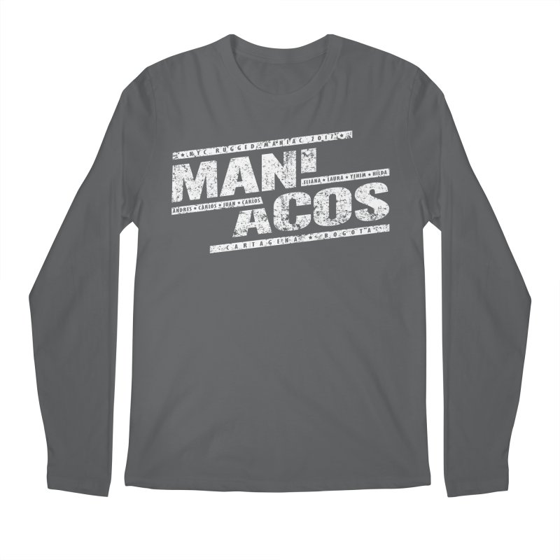 Maniacos v1 Men's Longsleeve T-Shirt by WaWaTees Shop