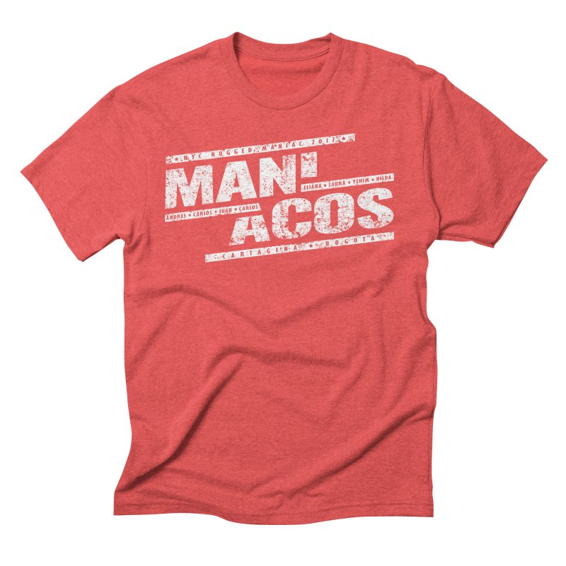 Maniacos v1 Men's Triblend T-shirt by WaWaTees Shop