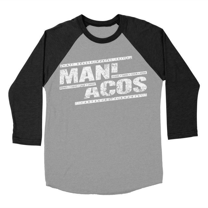 Maniacos v1 Women's Baseball Triblend T-Shirt by WaWaTees Shop