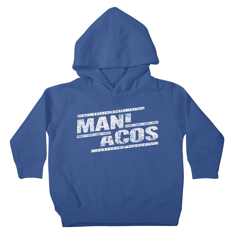 Maniacos v1 Kids Toddler Pullover Hoody by WaWaTees Shop