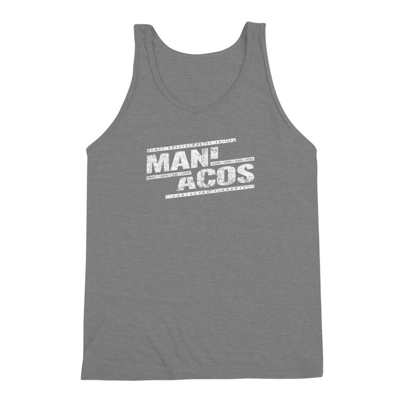 Maniacos v1 Men's Triblend Tank by WaWaTees Shop