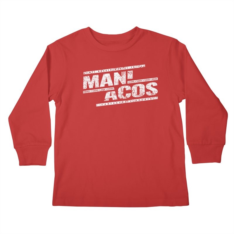 Maniacos v1 Kids Longsleeve T-Shirt by WaWaTees Shop