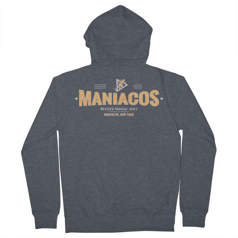 Maniacos v2 Men's Zip-Up Hoody by WaWaTees Shop