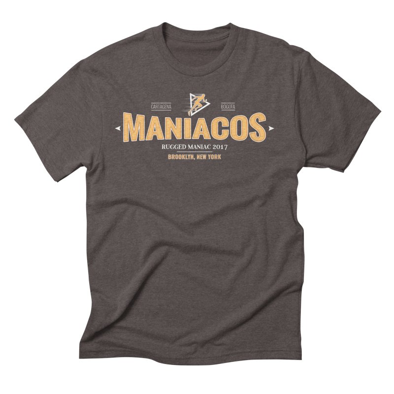 Maniacos v2 Men's Triblend T-shirt by WaWaTees Shop