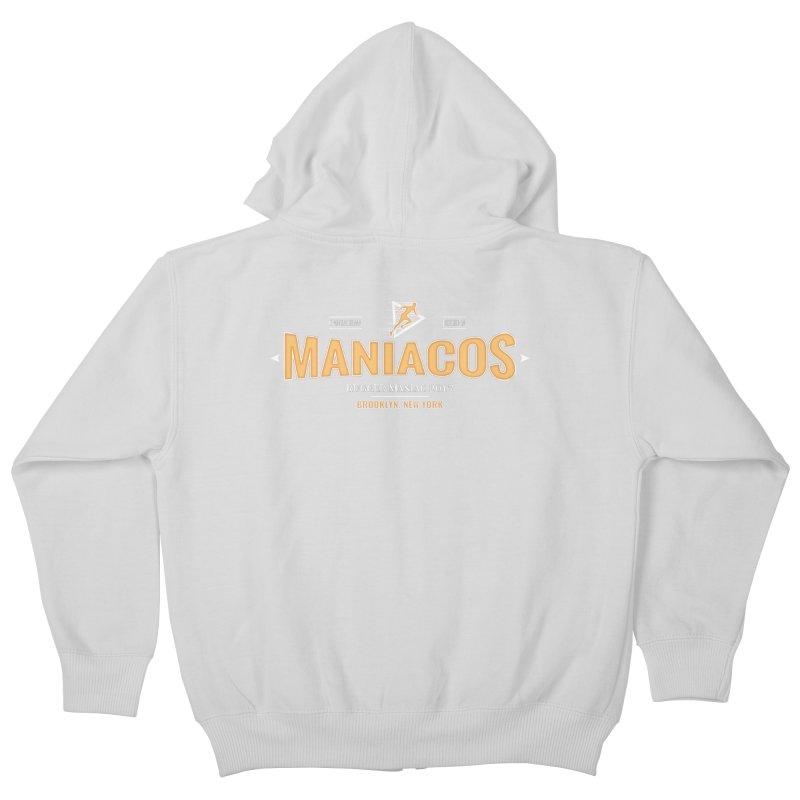 Maniacos v2 Kids Zip-Up Hoody by WaWaTees Shop