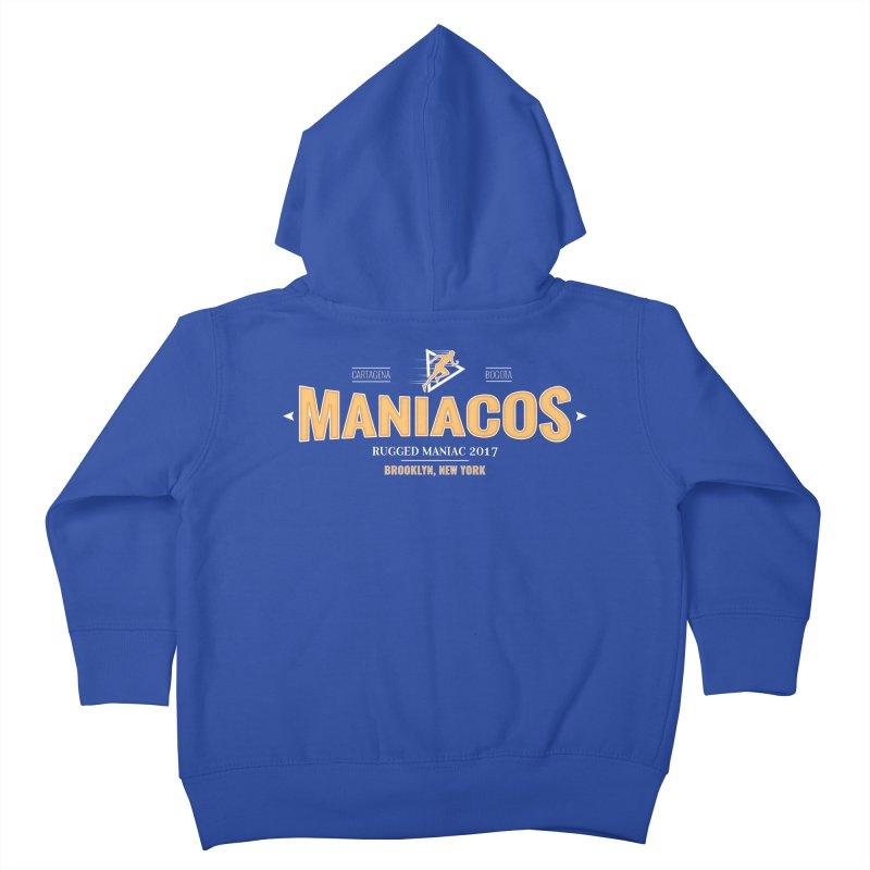 Maniacos v2 Kids Toddler Zip-Up Hoody by WaWaTees Shop