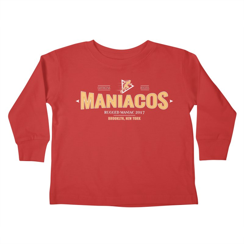 Maniacos v2 Kids Toddler Longsleeve T-Shirt by WaWaTees Shop