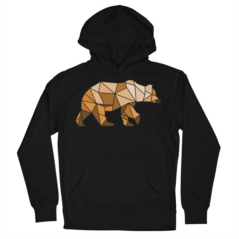 Geometric Grizzly Women's Pullover Hoody by WaWaTees Shop