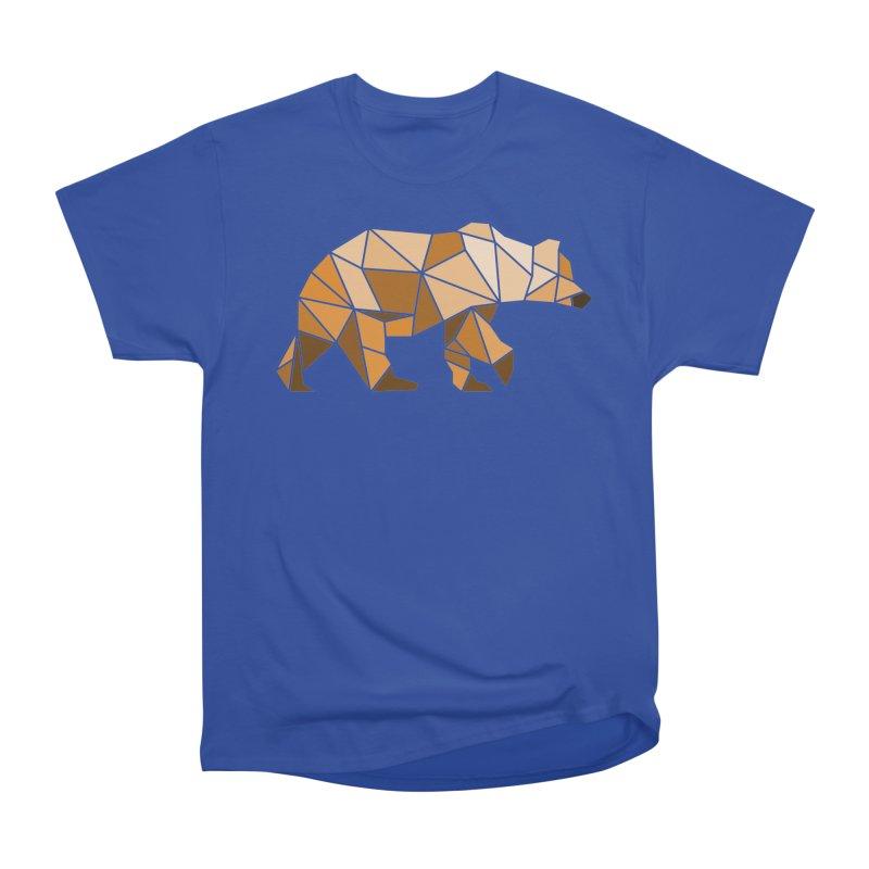 Geometric Grizzly Women's Classic Unisex T-Shirt by WaWaTees Shop