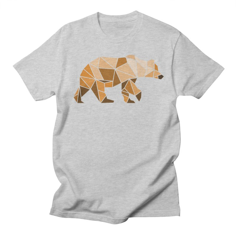 Geometric Grizzly Women's Unisex T-Shirt by WaWaTees Shop