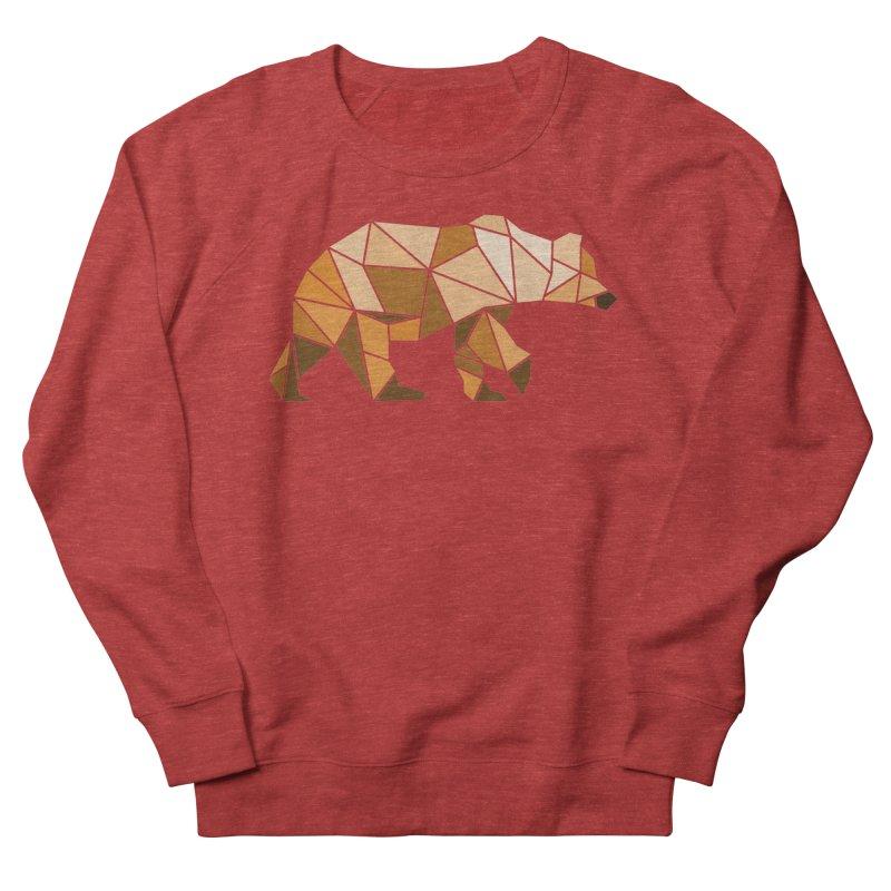 Geometric Grizzly Women's Sweatshirt by WaWaTees Shop