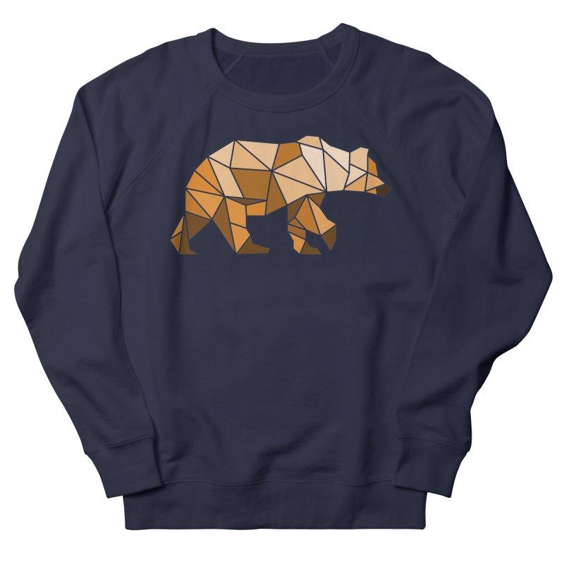 Geometric Grizzly Men's Sweatshirt by WaWaTees Shop