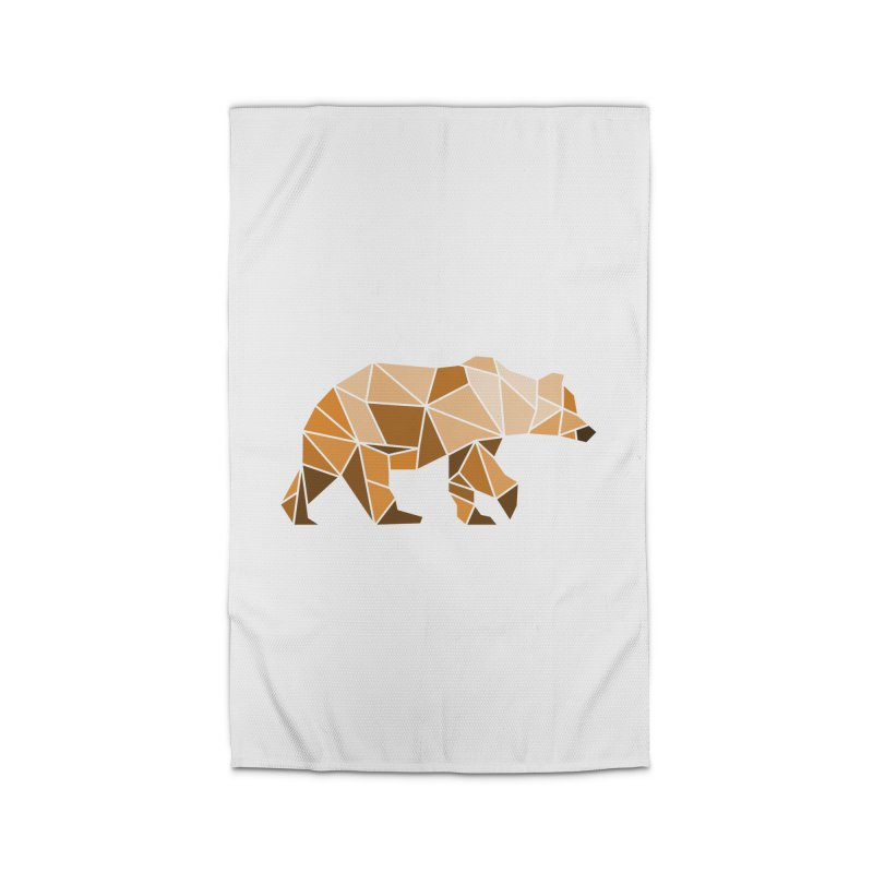 Geometric Grizzly Home Rug by WaWaTees Shop
