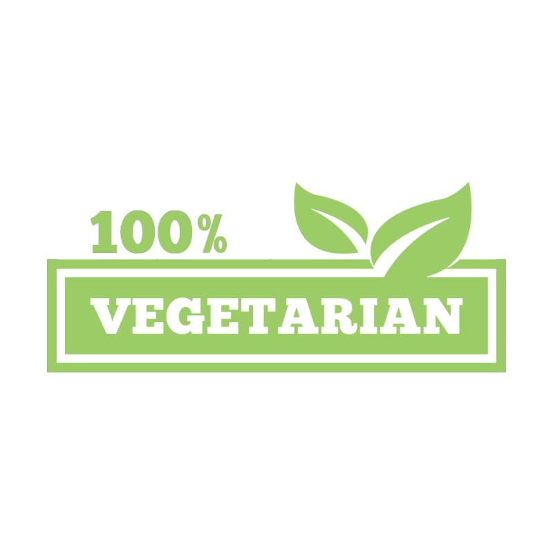 100% Vegetarian by WaWaTees Shop