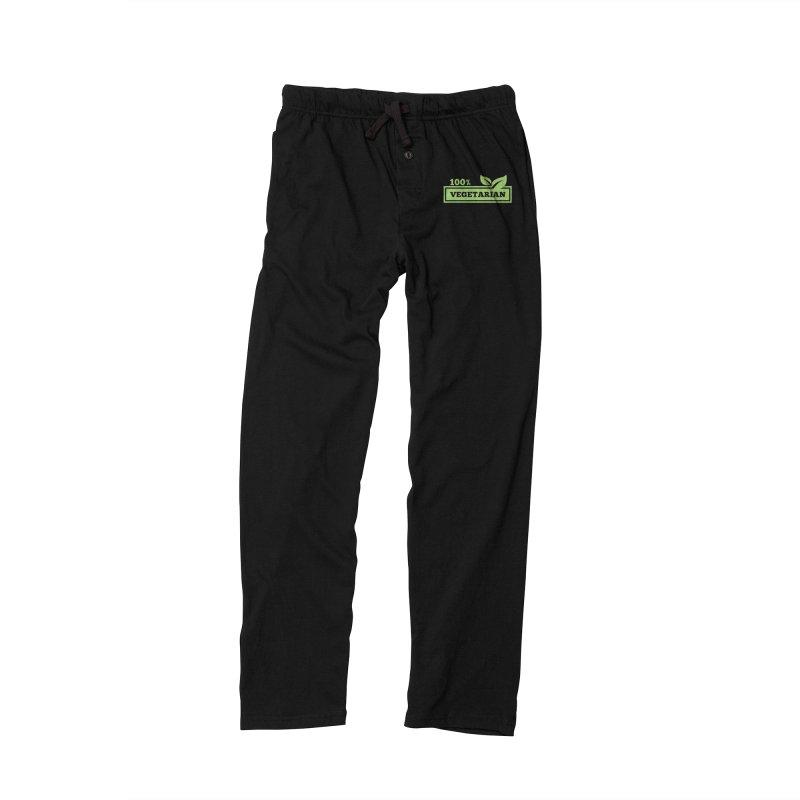 100% Vegetarian Men's Lounge Pants by WaWaTees Shop