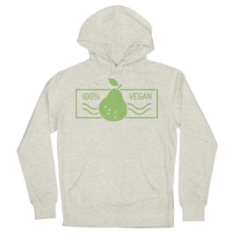 100% Vegan Men's Pullover Hoody by WaWaTees Shop