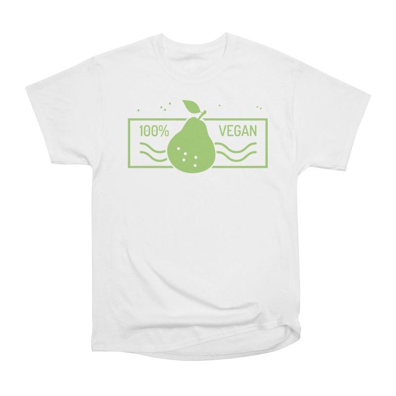 100% Vegan Women's Heavyweight Unisex T-Shirt by WaWaTees Shop
