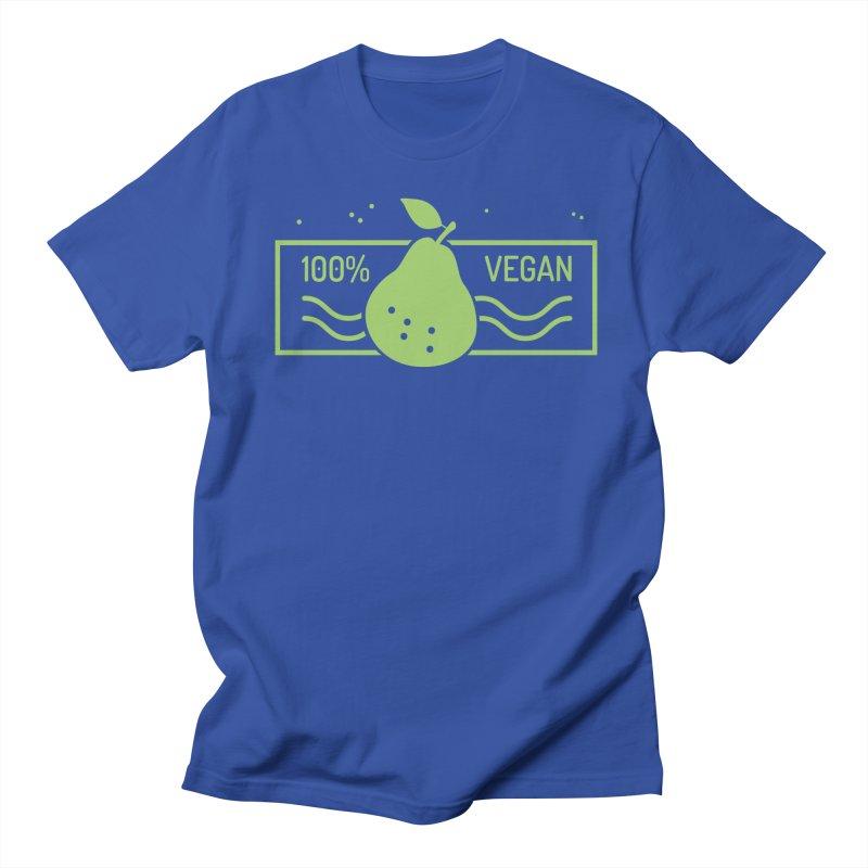 100% Vegan Women's Regular Unisex T-Shirt by WaWaTees Shop
