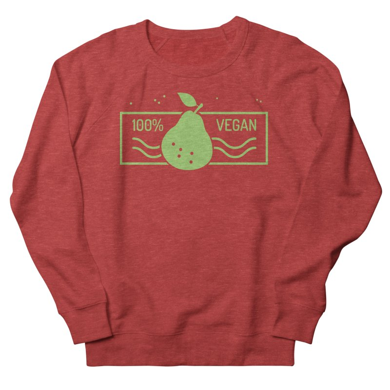 100% Vegan Women's Sweatshirt by WaWaTees Shop