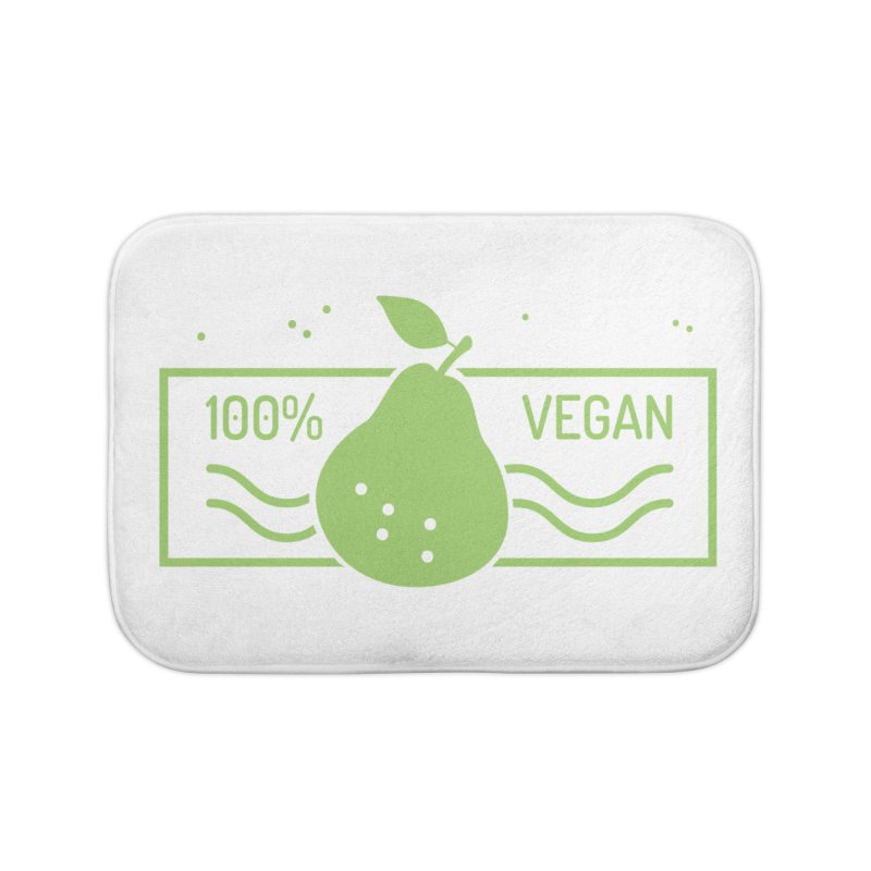 100% Vegan Home Bath Mat by WaWaTees Shop