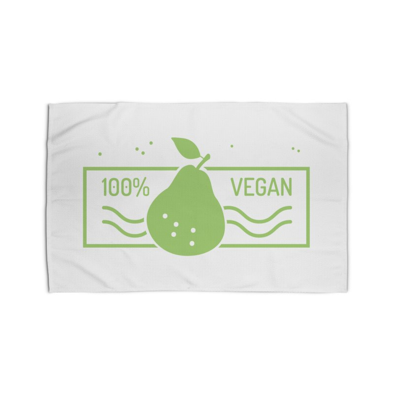 100% Vegan Home Rug by WaWaTees Shop