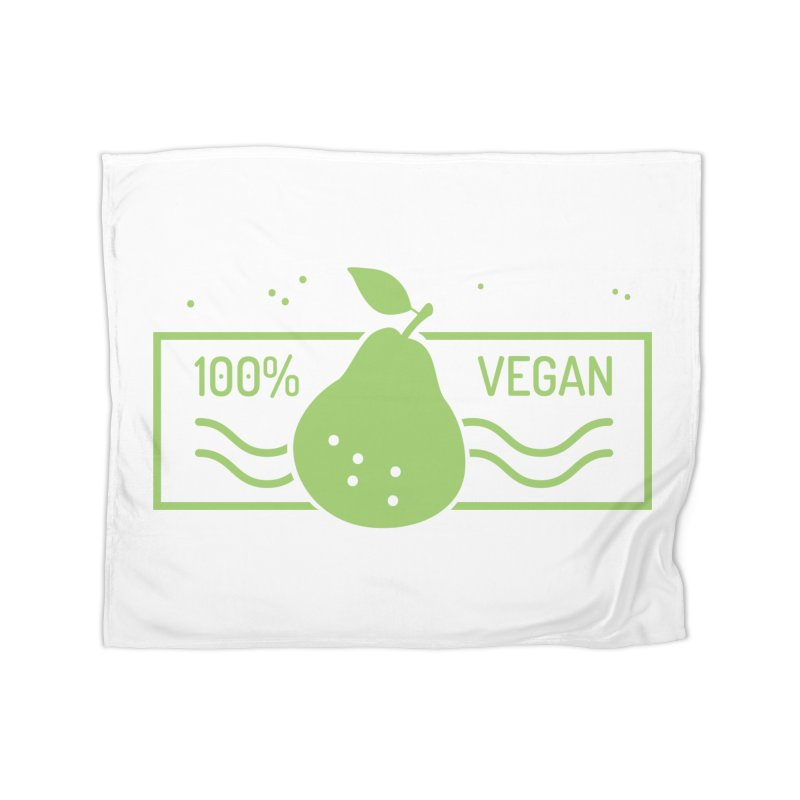 100% Vegan Home Blanket by WaWaTees Shop