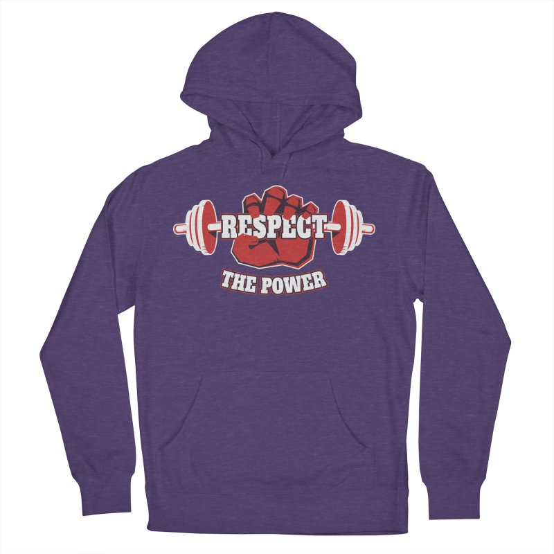 Respect The Power Women's Pullover Hoody by WaWaTees Shop