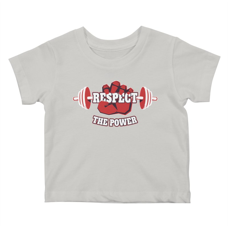 Respect The Power Kids Baby T-Shirt by WaWaTees Shop
