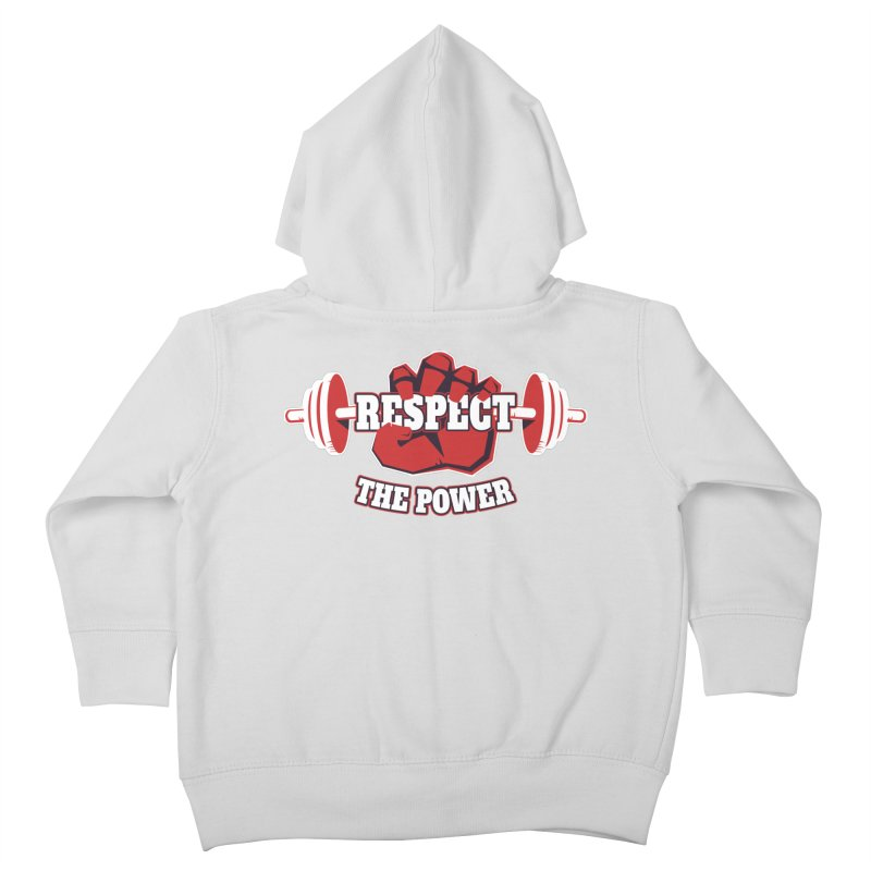Respect The Power Kids Toddler Zip-Up Hoody by WaWaTees Shop