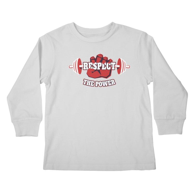 Respect The Power Kids Longsleeve T-Shirt by WaWaTees Shop
