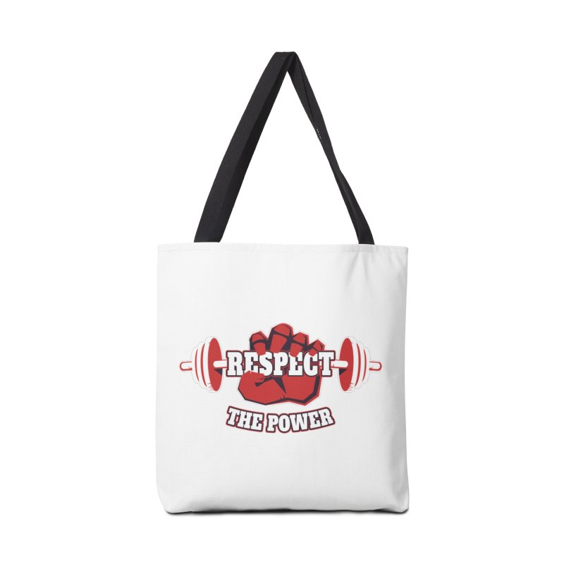 Respect The Power Accessories Bag by WaWaTees Shop