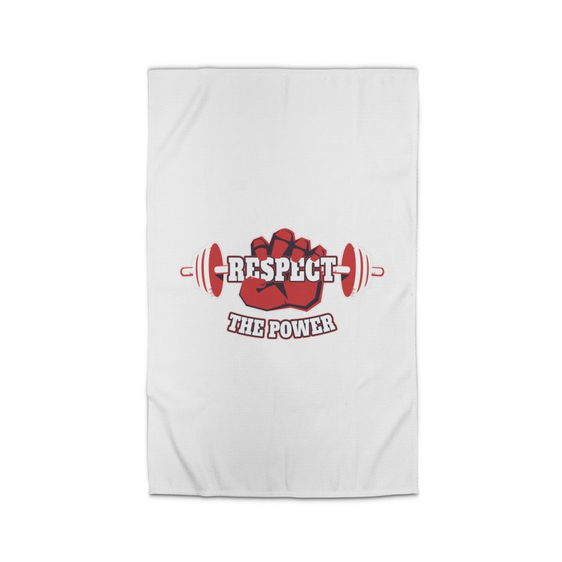 Respect The Power Home Rug by WaWaTees Shop