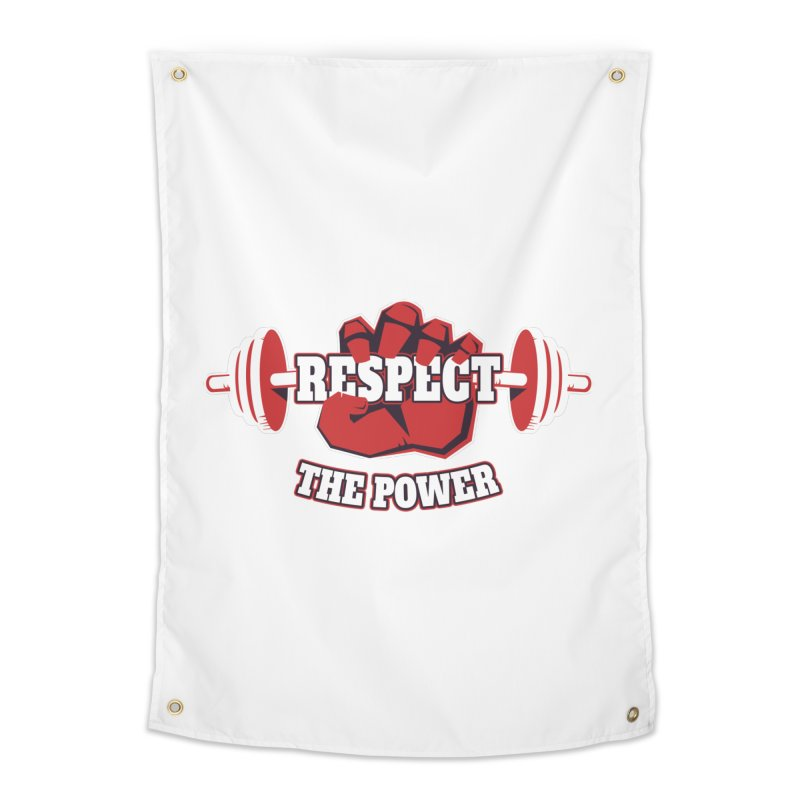 Respect The Power Home Tapestry by WaWaTees Shop