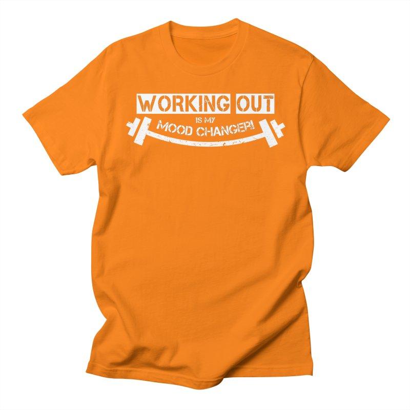 Mood Changer! (White) Men's Regular T-Shirt by WaWaTees Shop