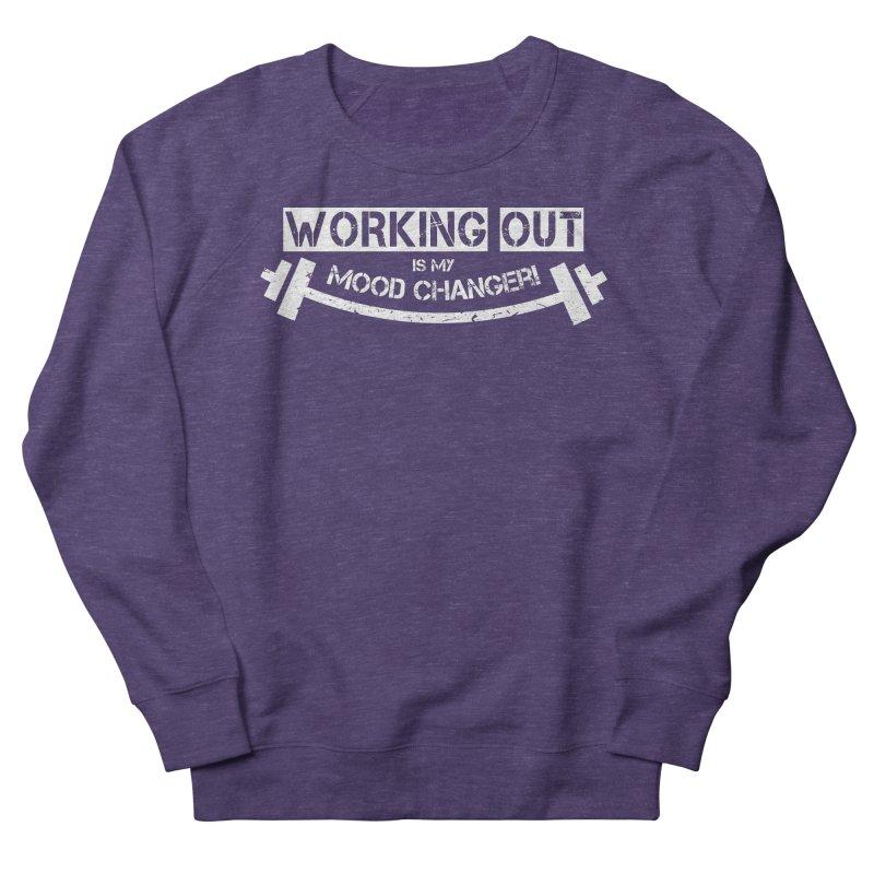 Mood Changer! (White) Women's French Terry Sweatshirt by WaWaTees Shop