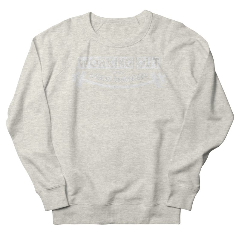 Mood Changer! (White) Women's French Terry Sweatshirt by WaWaTees Shop