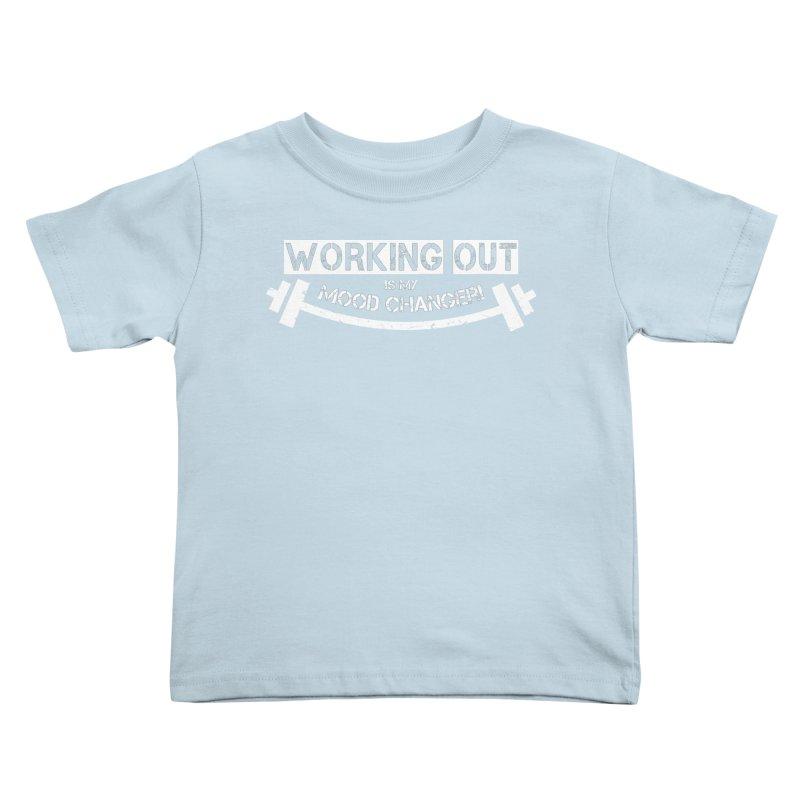 Mood Changer! (White) Kids Toddler T-Shirt by WaWaTees Shop