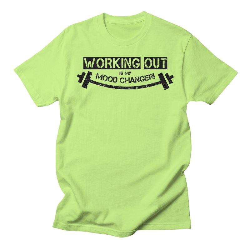 Mood Changer! (Black) Men's T-Shirt by WaWaTees Shop