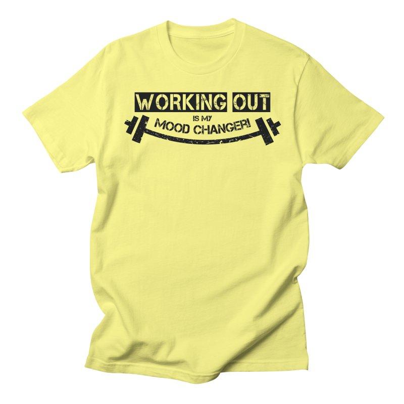 Mood Changer! (Black) Women's Unisex T-Shirt by WaWaTees Shop