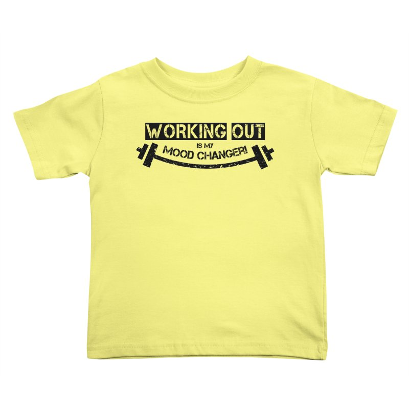 Mood Changer! (Black) Kids Toddler T-Shirt by WaWaTees Shop