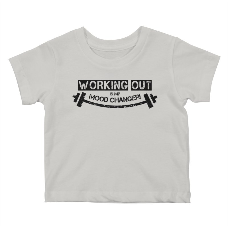 Mood Changer! (Black) Kids Baby T-Shirt by WaWaTees Shop