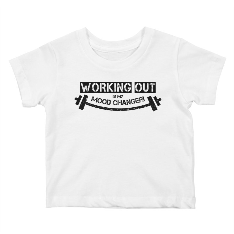 Mood Changer! (Black) Kids Baby T-Shirt by WaWaTees Shop
