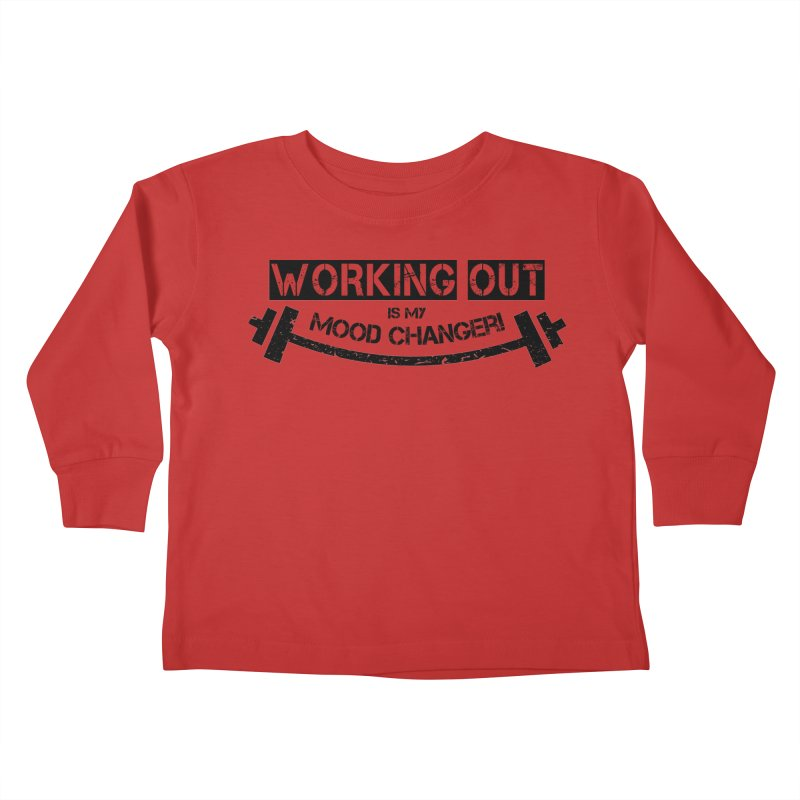 Mood Changer! (Black) Kids Toddler Longsleeve T-Shirt by WaWaTees Shop