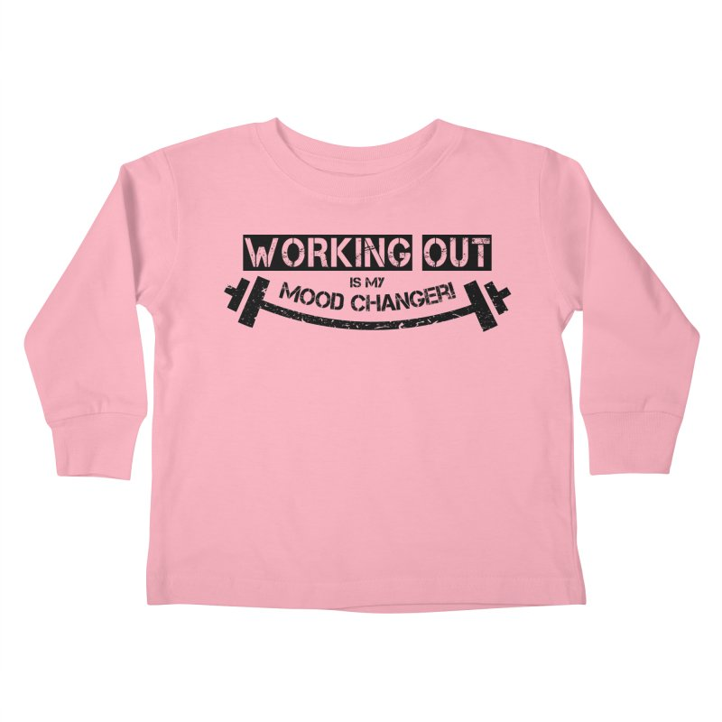 Mood Changer! (Black) Kids Toddler Longsleeve T-Shirt by WaWaTees Shop