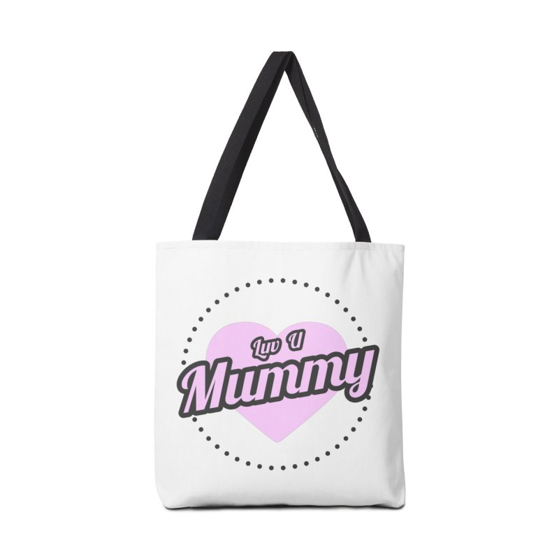 Luv U Mummy Accessories Bag by WaWaTees Shop