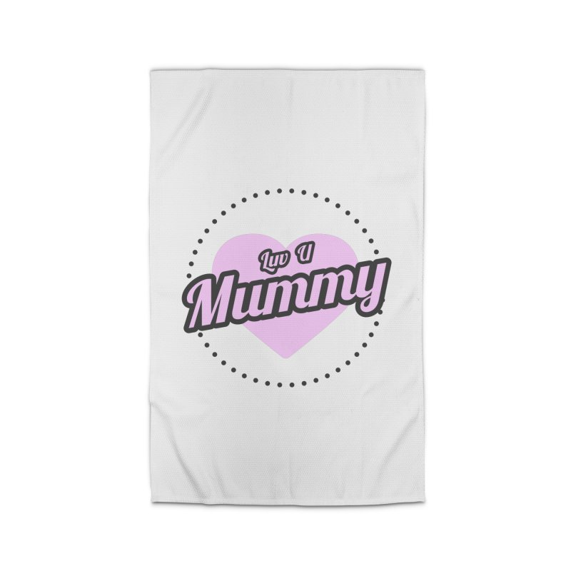 Luv U Mummy Home Rug by WaWaTees Shop