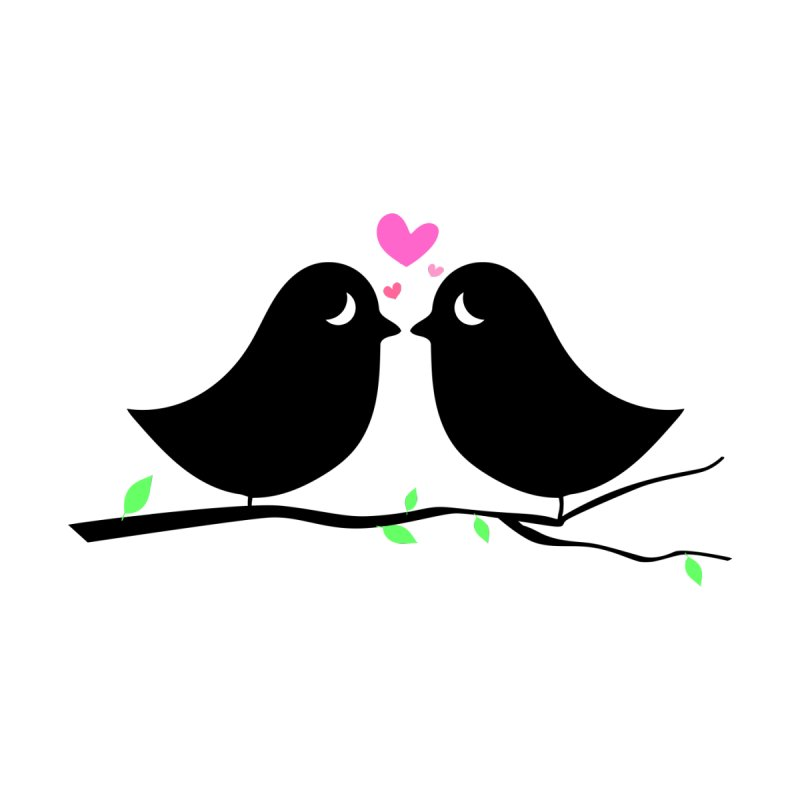 Love Birds by WaWaTees Shop